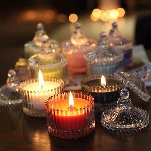 Candy Jar Aroma Votive Candle