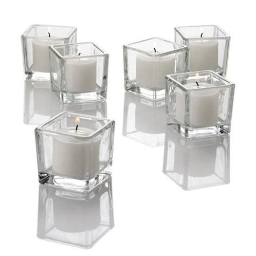 Twinkly Square Votive Candle (SET OF 4)