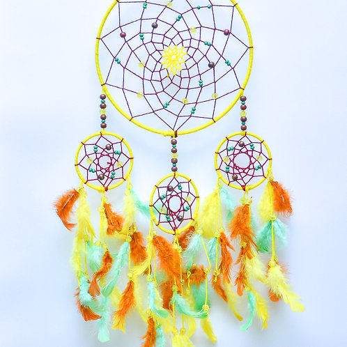 Spring Time Yellow Dream Catcher