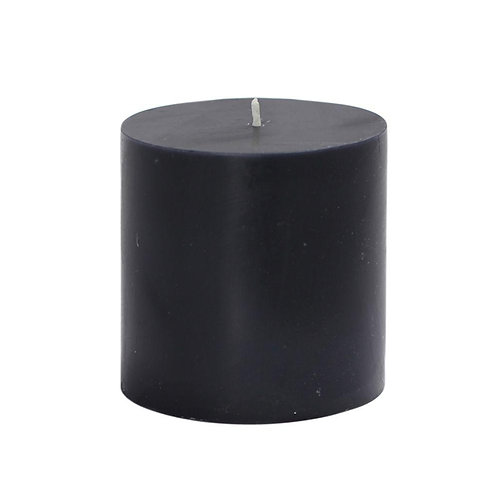 Black Beauty Aroma Pillar Candle