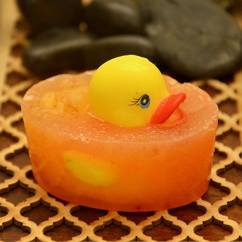 Duckie toy soap