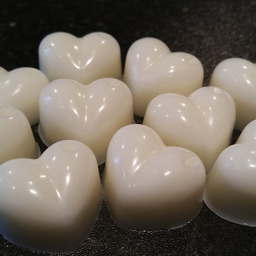 Heart Lavender Wax Tarts - Pack of 7