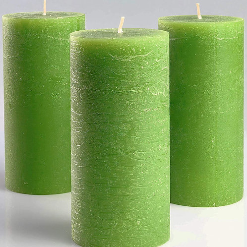 Mint Green Aroma Candle Set of 3