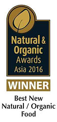 Natural & Organic Awards Asia 2016 by Health Harvest Tualang Honey Specialty