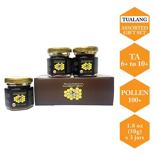 (D3) 蜂蜜礼盒装   荣获多个国际奖项 50g / 1.8oz x 3