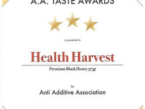 A.A. Taste Awards 2018 - 3 Stars