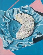 Camembert. Huile sur toile 24 x 30 cm 20