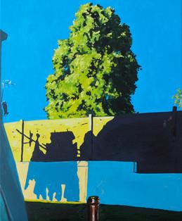 le linge suspendu huile sur toile 50 x 61 cm 2021 2.jpg