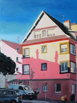 coin de rue à la lumière d'orient huile sur toile 116 x 89 cm 2021 2.jpg