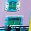 """Thumbnail: """"Deux chat sur le balcon"""". Huile sur toile, 55 x 38 cm, 2020"""