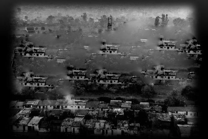 City of Bhopal and poisonous gas that leaked