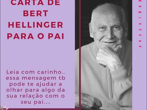 CARTA DE BERT HELLINGER PARA O PAI