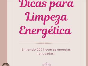 DICAS PARA LIMPEZA ENERGÉTICA!