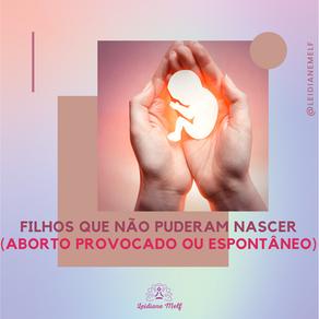 FILHOS QUE NÃO PUDERAM NASCER (aborto provocado ou espontâneo)