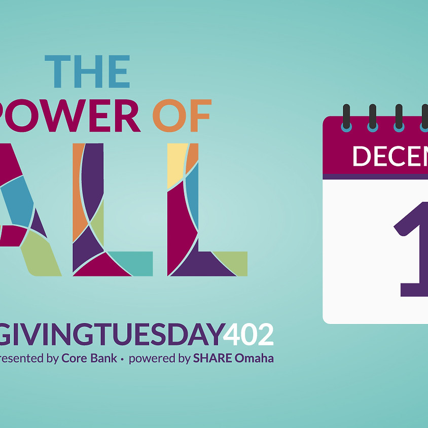 Giving Tuesday 402