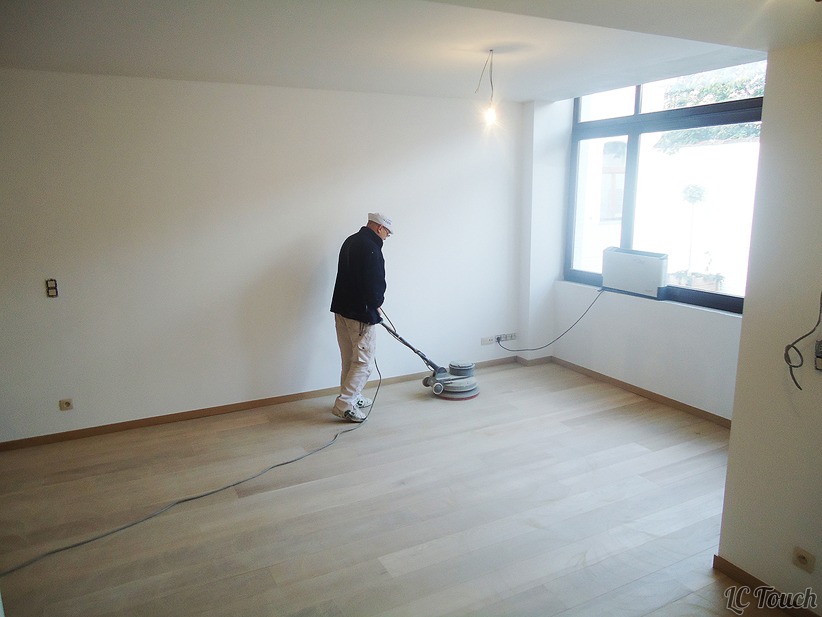 Restauration d'un Ancien Parquet