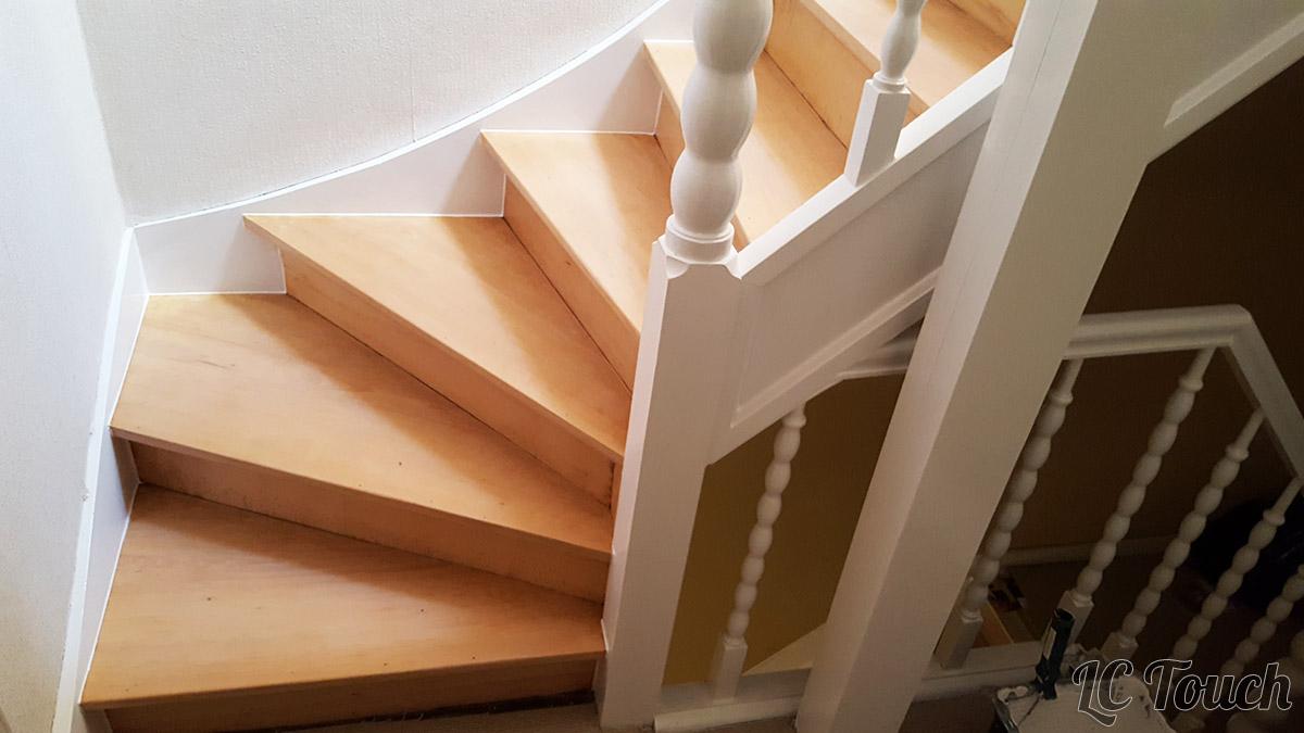 Décapage +Peinture Escalier