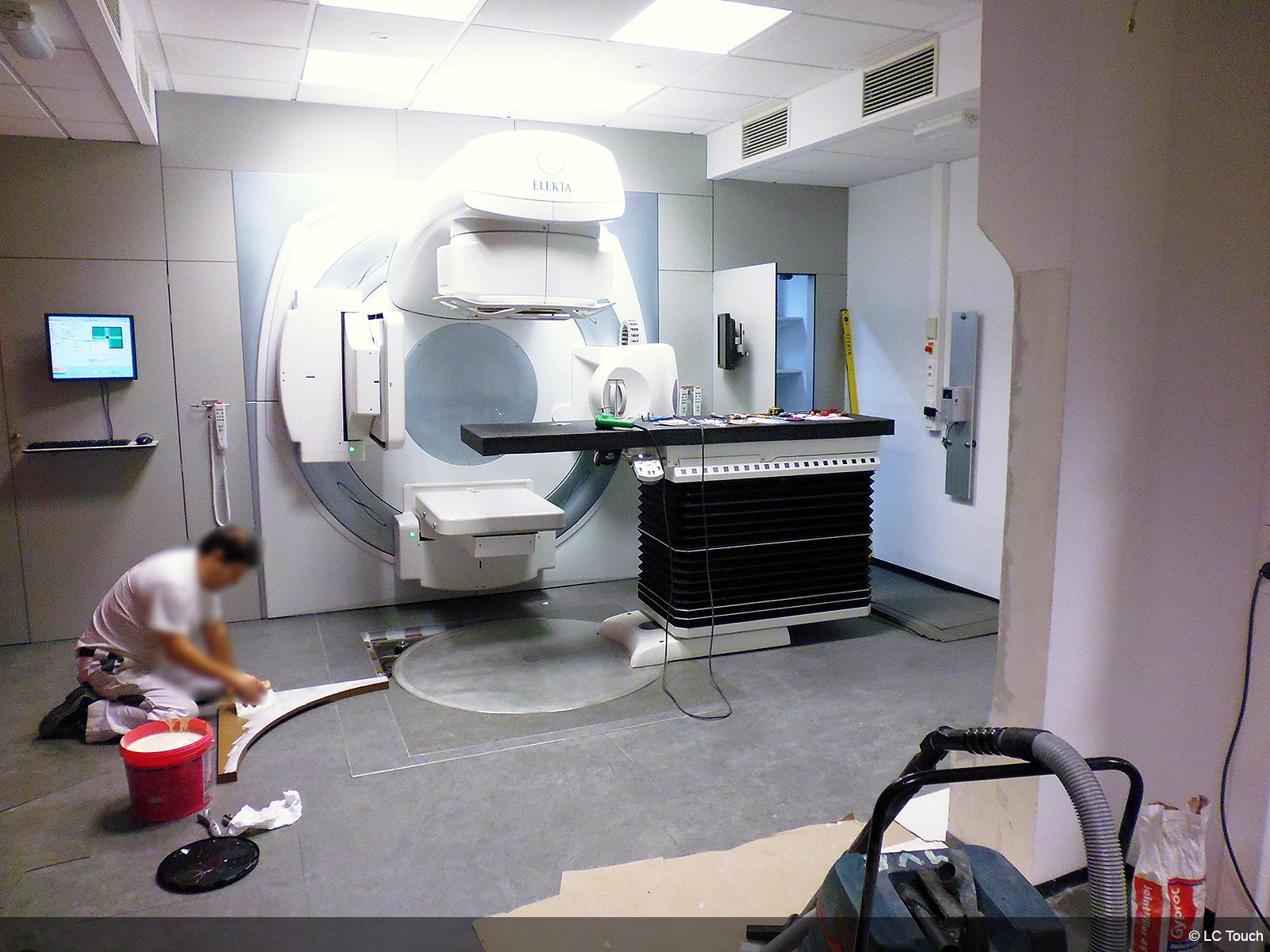 Rénovation d'une salle de scanner