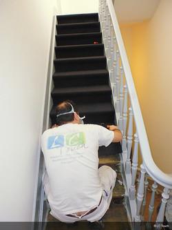 Tapis escaliers