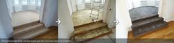Rénovation marches escalier