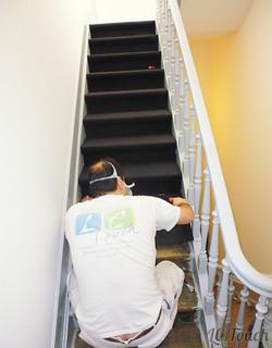 Revêtement en Tapis pour Escalier