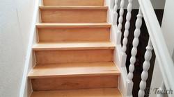 Décapage et Ponçage d'un Escalier