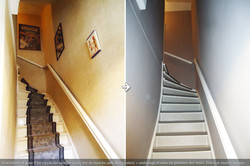 Vinyle Escalier