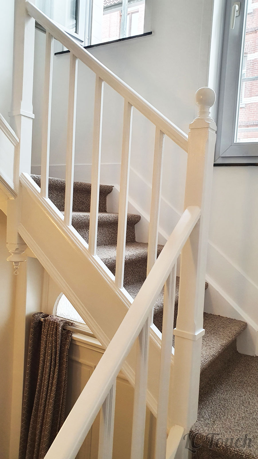Peinture escalier en bois