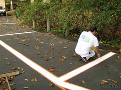 Peinture Parking Stationnement