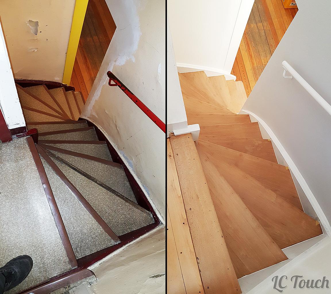 Renouvellement escalier