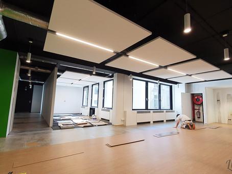 Rénovation d'espaces de Bureaux