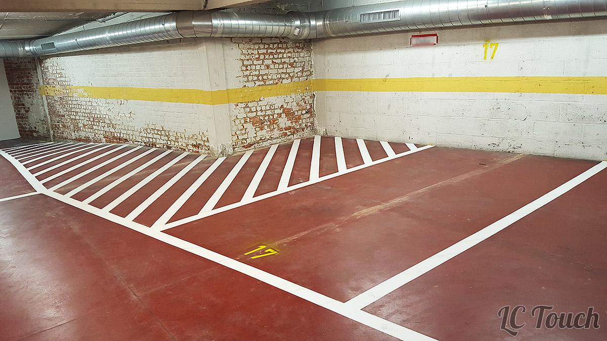 Peinture Parkings