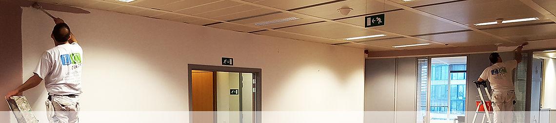 Travaux de rafraichissement bureaux