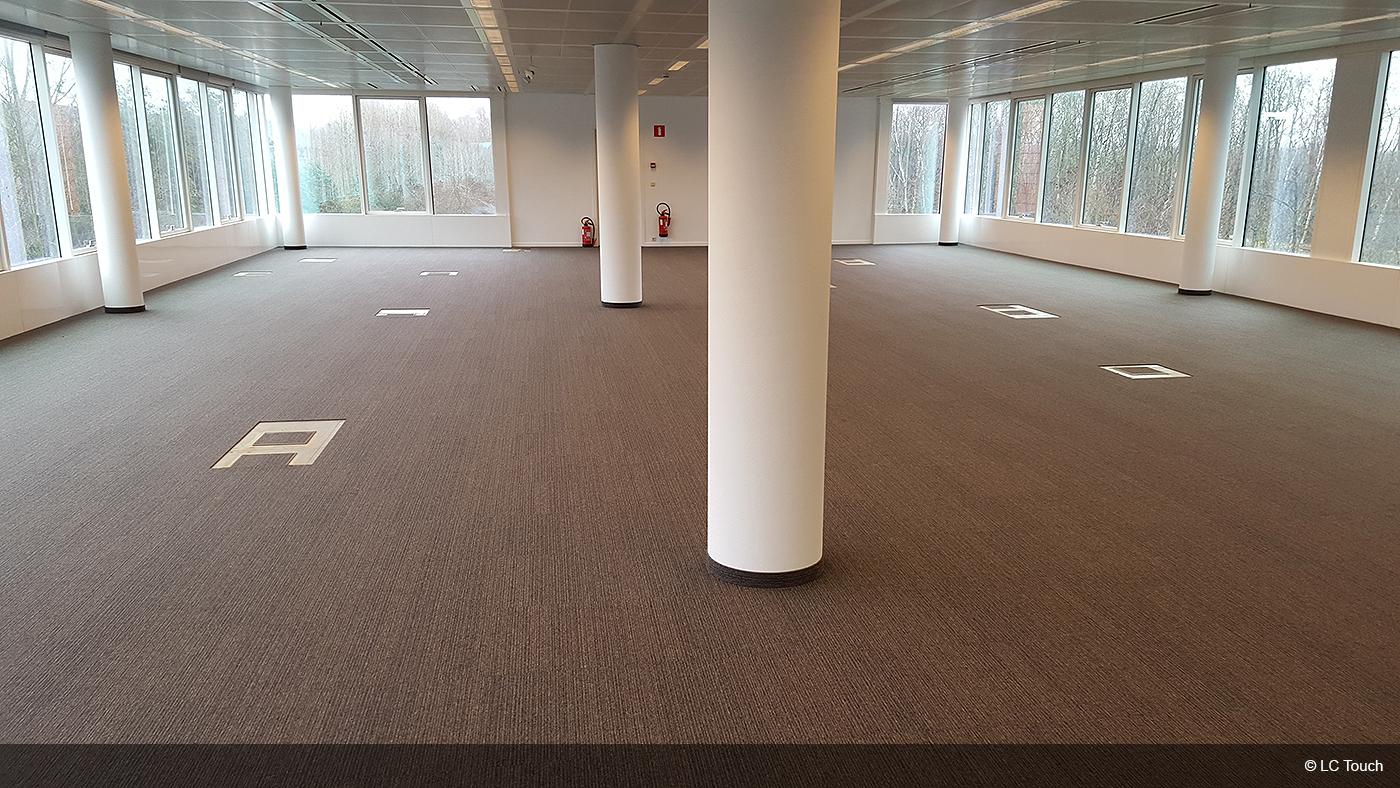 Tapis dalles pour bureaux