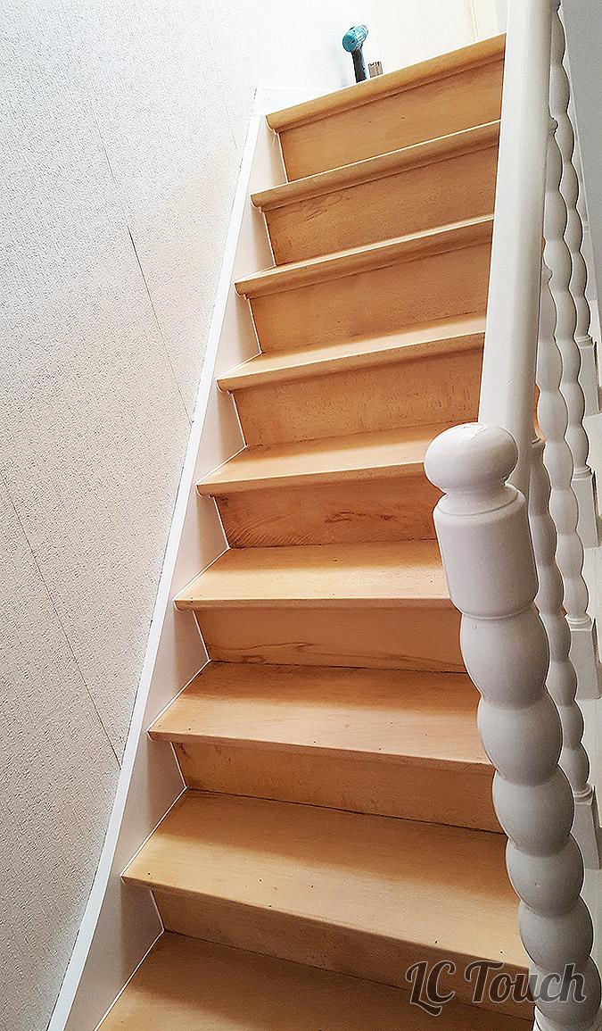 Restauration d'une cage d'escalier