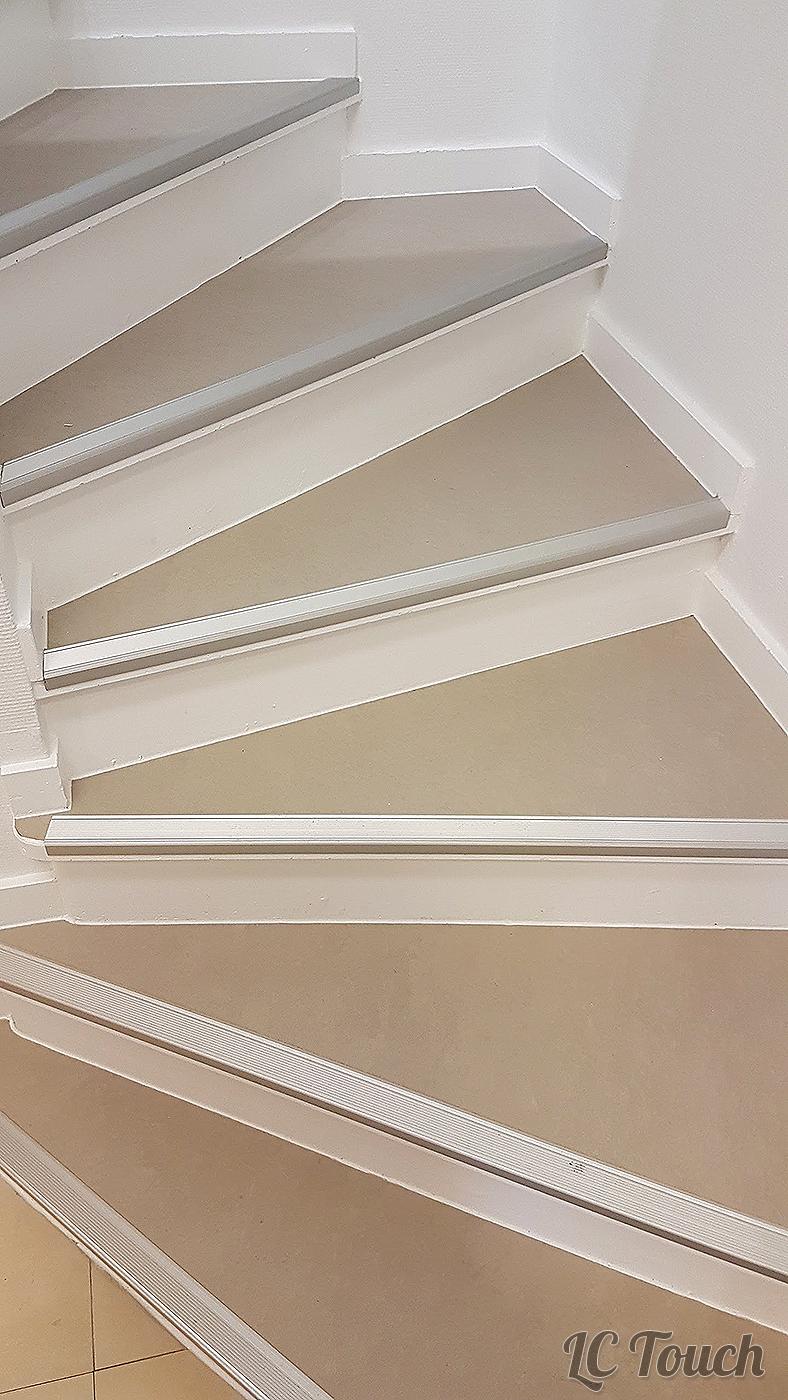Rénovation de Marches d'Escalier