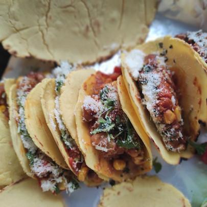 Taco z chili sin carne