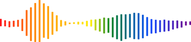 A rainbow waveform