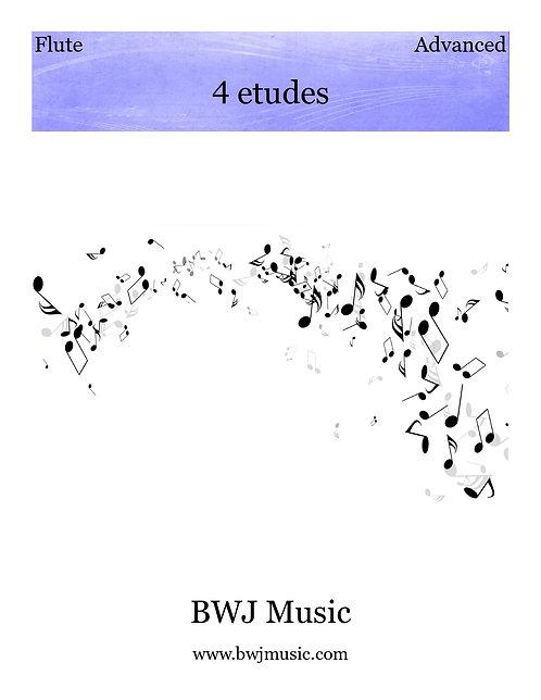 4 etudes for Solo Flute