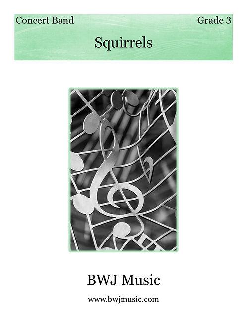 Squirrels (Concert Band Version)