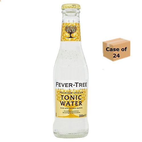 Fever-Tree Premium Indian Tonic Water 200ml case of 24