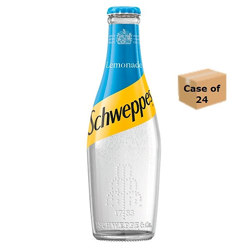 Schweppes Lemonade 200ml,  case of 6
