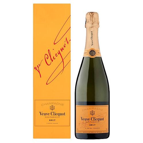 Champagne Veuve Clicquot Brut Yellow Label NV
