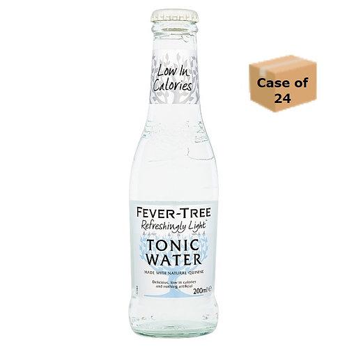 Fever-Tree Refreshingly Light Tonic Water 200ml case of 24
