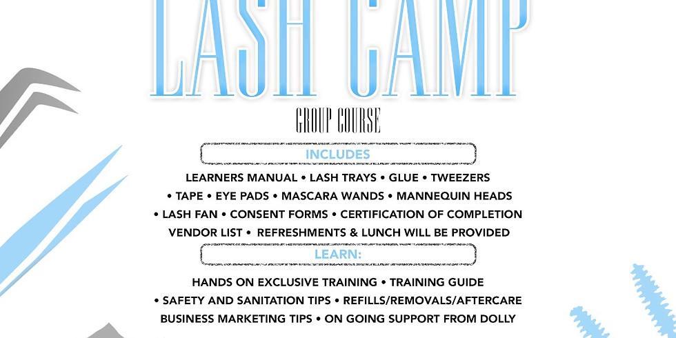 All Things Dolly Lash Camp: Beginner Eyelash Training