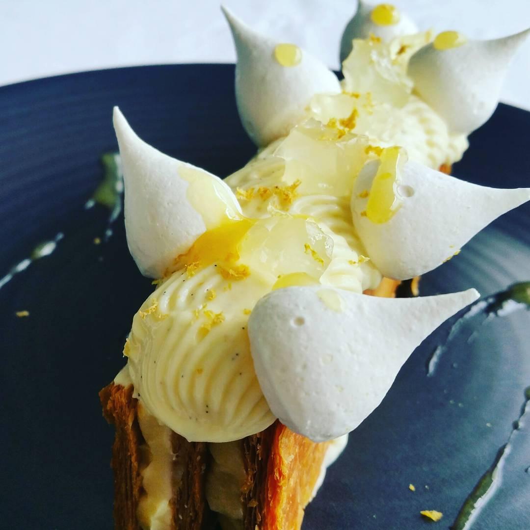 Millefeuille façon tarte au citron