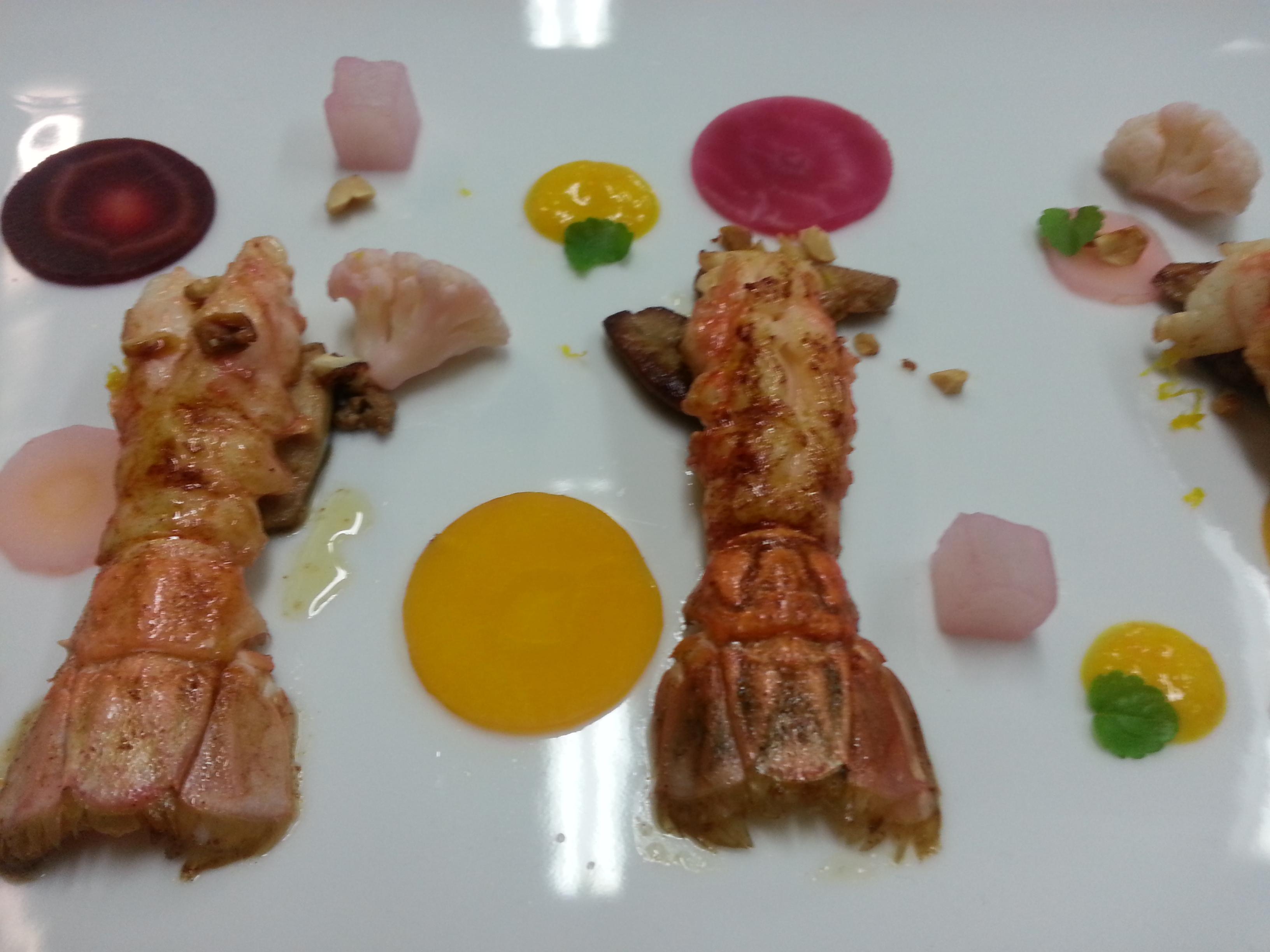Langoustines & foie gras