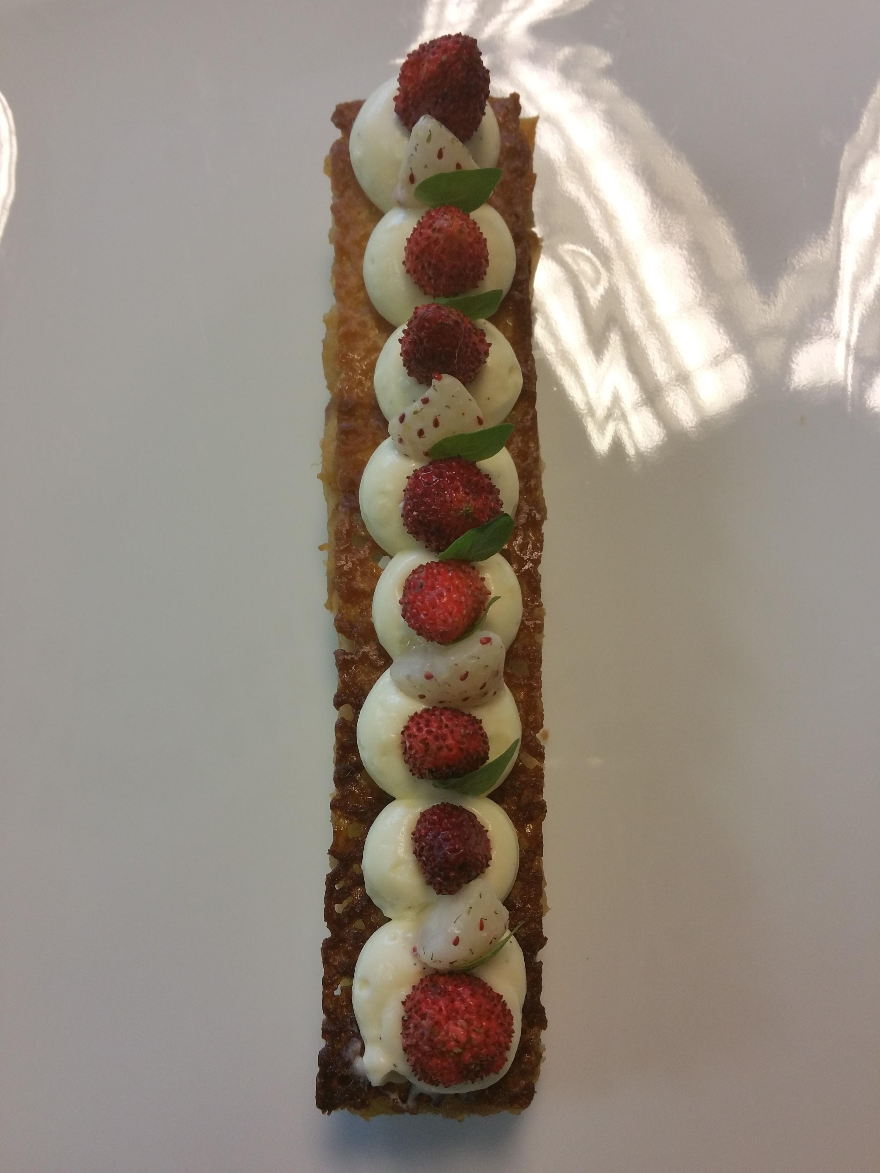 Sablé breton fraises des bois
