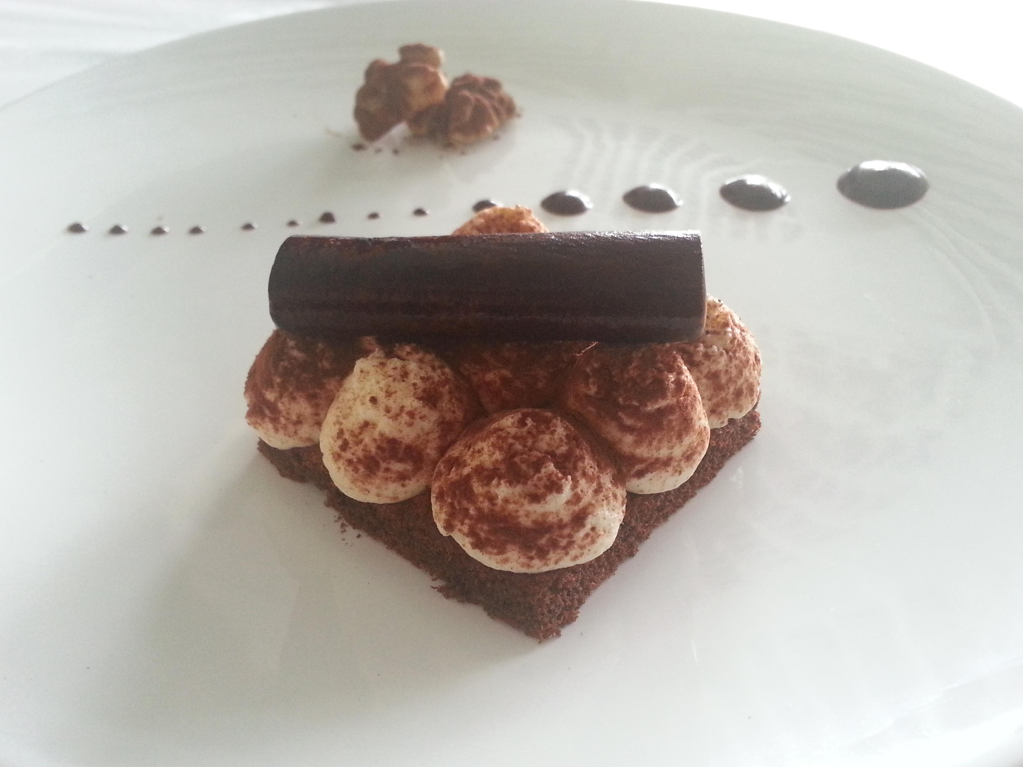 Tiramisu chocolat revisité