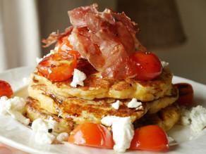 ButterNut Squash Savoury Pancakes